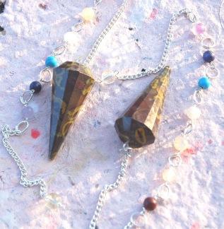 Azubalit sten (good luck) pendel, styckpris