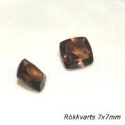 Rökkvarts trillion cut 7x7mm, styckpris