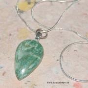 Mariposit sten i silverkedja