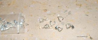 Hållare till sten sterling silver 10x7mm, styckpris