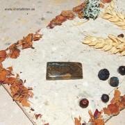 Boulder Koroit Opal sten 30x15mm