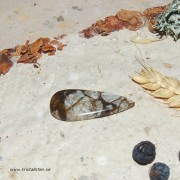 Arizona WildHorse Magnesit sten flatback 35x15mm