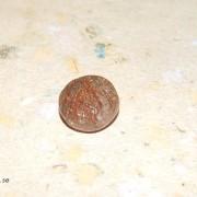 Koppar rutil kvarts sten fasetterade rund 11mm
