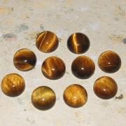 Tigeröga sten flatback 10mm, styckpris