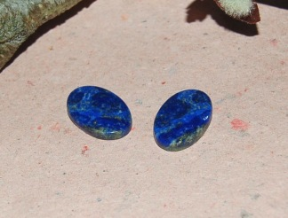 Lapis lazuli flatback  20x14mm, styckpris