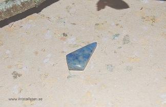 Dumortierit sten flatback 26x14mm