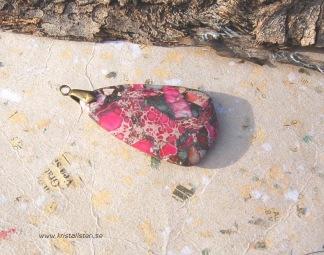 Jaspis sten  med topphål