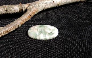 Vacker Serafinit sten 46x30mm