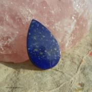Lapis Lazuli sten 26x16mm flatback