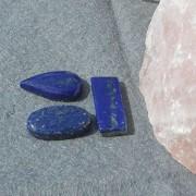 Lapis Lazuli  flatback, styckpris