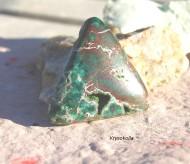 Krysokolla sten, stora och små