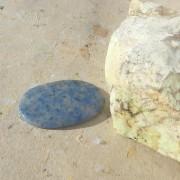 Dumortierit sten Cab oval 49x33mm