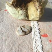 Arizona Wild Horse /Magnesit sten 36x24mm flatback