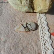 Arizona Wild Horse /Magnesit sten 37x19mm flatback