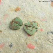 Pistachio Opal sten, fri form, styckpris