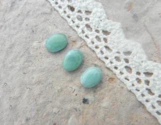 Larimar sten oval 10x7mm, styckpris