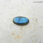 Blå Labradorit sten 32x22mm, cabochon