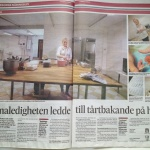 Cake Me Happy i Trelleborgs lokaltidning
