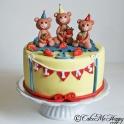Barntårta nallar