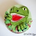 Barntårta dinousarie