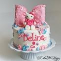 Barntårta Hello Kitty