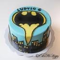 Barntårta Batman
