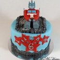Barntårta Transformers
