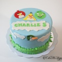 Barntårta Angry Birds