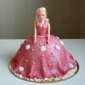 Barntårta barbie