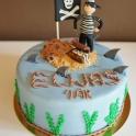 Barntårta pirat