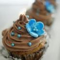 Nutella blå blomma