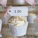 Bröllopscupcakes i do
