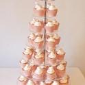 Bröllopscupcakes maräng