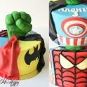 Barntårta Marvel