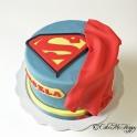 Barntårta Superman