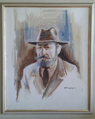Rolf Eriksson. Olja, 52x63, 1961.