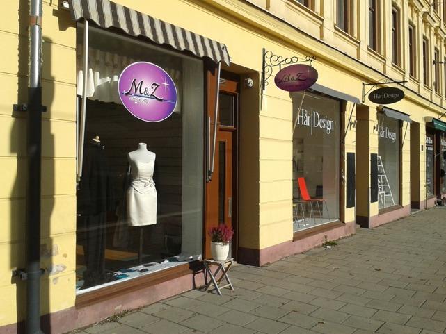 Butiken på Trädgårdsgatan.
