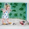 Illustration i tusch och akvarell