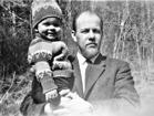 Jag och pappa, våren -64