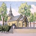 Sankt Olofs kyrka - Falköping_provtryck