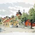 Östra Kyrkogatan, Nyköping (1960/-61) Tack Christer, för tipset.