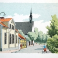 Östra kyrkan, Nyköping (1960/-61). Tack Christer för tipset.