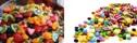 frukt och bär - socker