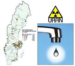 Klicka på bilden och se uranförekomsten i berggrunden där du bor.