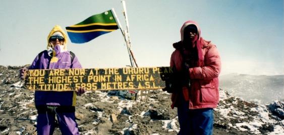 Uhuru Peak,  Mount Kilimanjaro  Tanzania
