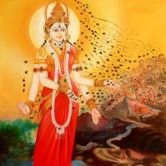 Bhramari Devi, Indisk bi-gudinna