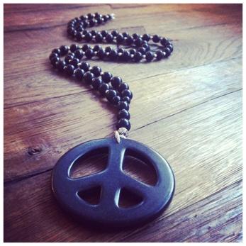 Black peace
