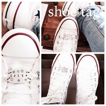Shoe tag