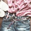 Boho belt (armband/halsband)