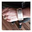 Word tag bracelet